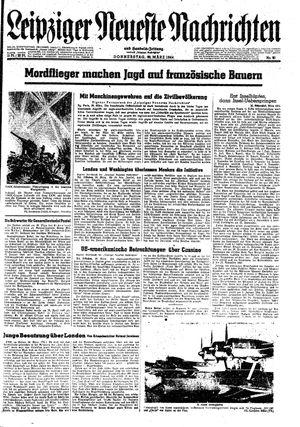 Leipziger neueste Nachrichten und Handelszeitung  vom 30.03.1944