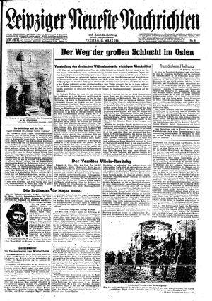Leipziger neueste Nachrichten und Handelszeitung  vom 31.03.1944