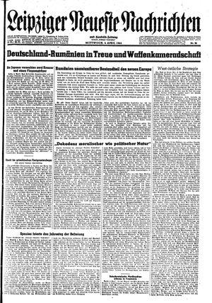 Leipziger neueste Nachrichten und Handelszeitung  vom 05.04.1944
