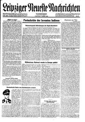 Leipziger neueste Nachrichten und Handelszeitung  vom 07.04.1944