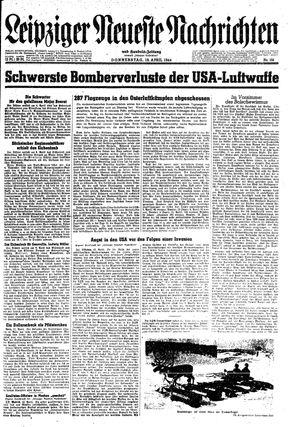 Leipziger neueste Nachrichten und Handelszeitung  on Apr 13, 1944
