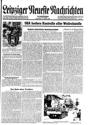 Leipziger neueste Nachrichten und Handelszeitung  vom 14.04.1944