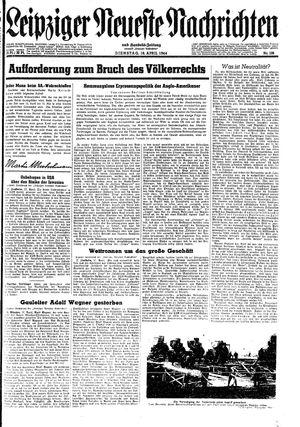 Leipziger neueste Nachrichten und Handelszeitung  on Apr 18, 1944