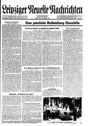 Leipziger neueste Nachrichten und Handelszeitung  on Apr 21, 1944