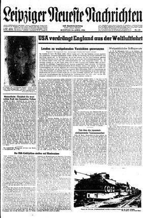 Leipziger neueste Nachrichten und Handelszeitung  vom 24.04.1944