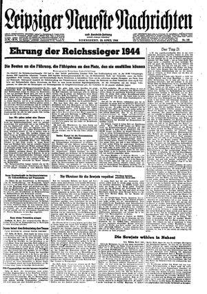 Leipziger neueste Nachrichten und Handelszeitung  on Apr 29, 1944