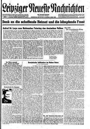 Leipziger neueste Nachrichten und Handelszeitung  vom 30.04.1944