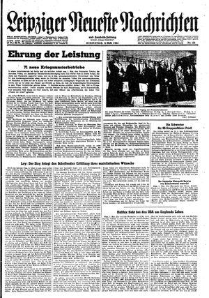 Leipziger neueste Nachrichten und Handelszeitung  vom 02.05.1944
