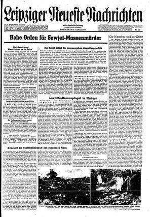 Leipziger neueste Nachrichten und Handelszeitung  vom 06.05.1944