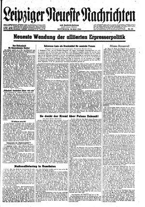 Leipziger neueste Nachrichten und Handelszeitung  vom 10.05.1944