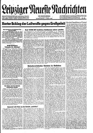 Leipziger neueste Nachrichten und Handelszeitung  vom 13.05.1944