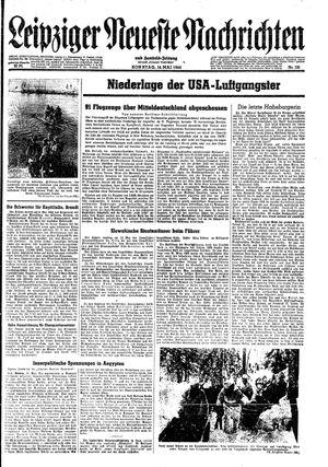 Leipziger neueste Nachrichten und Handelszeitung  vom 14.05.1944