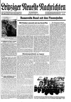 Leipziger neueste Nachrichten und Handelszeitung  on May 15, 1944