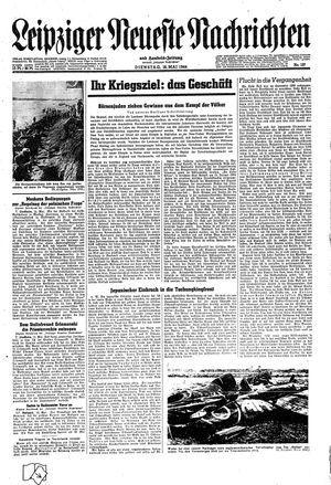 Leipziger neueste Nachrichten und Handelszeitung  vom 16.05.1944