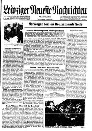 Leipziger neueste Nachrichten und Handelszeitung  vom 17.05.1944