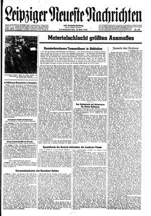 Leipziger neueste Nachrichten und Handelszeitung  vom 18.05.1944