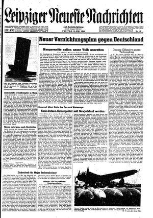 Leipziger neueste Nachrichten und Handelszeitung  vom 19.05.1944