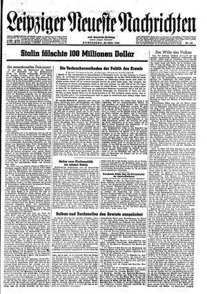 Leipziger neueste Nachrichten und Handelszeitung  on May 20, 1944