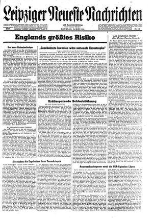 Leipziger neueste Nachrichten und Handelszeitung  vom 21.05.1944