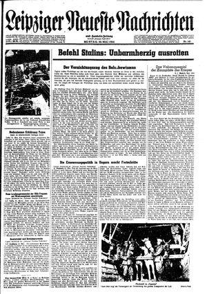 Leipziger neueste Nachrichten und Handelszeitung  on May 22, 1944