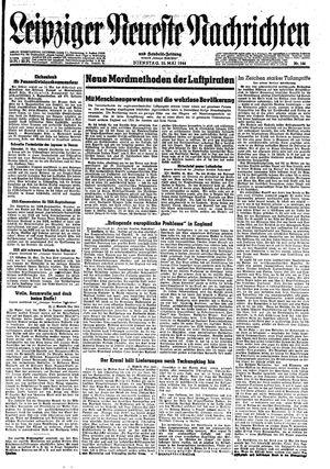 Leipziger neueste Nachrichten und Handelszeitung  vom 23.05.1944