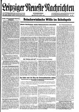 Leipziger neueste Nachrichten und Handelszeitung  vom 24.05.1944