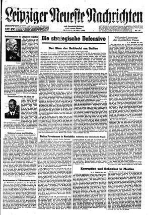 Leipziger neueste Nachrichten und Handelszeitung  on May 26, 1944