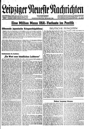 Leipziger neueste Nachrichten und Handelszeitung  on May 28, 1944
