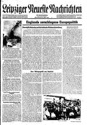 Leipziger neueste Nachrichten und Handelszeitung  vom 31.05.1944