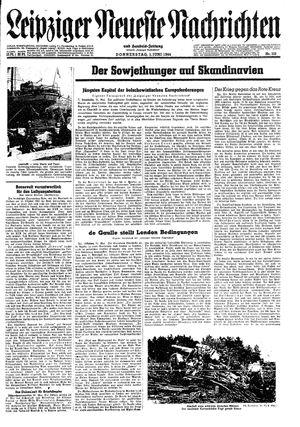 Leipziger neueste Nachrichten und Handelszeitung  vom 01.06.1944