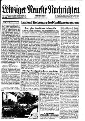 Leipziger neueste Nachrichten und Handelszeitung  vom 02.06.1944