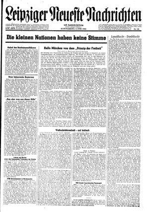 Leipziger neueste Nachrichten und Handelszeitung  vom 03.06.1944