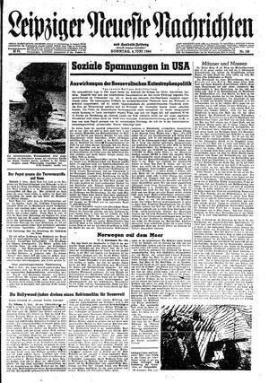 Leipziger neueste Nachrichten und Handelszeitung  vom 04.06.1944