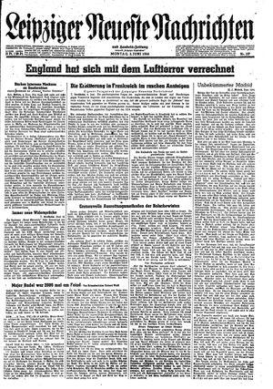 Leipziger neueste Nachrichten und Handelszeitung  on Jun 5, 1944