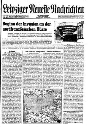 Leipziger neueste Nachrichten und Handelszeitung  vom 07.06.1944