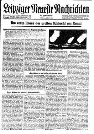 Leipziger neueste Nachrichten und Handelszeitung  on Jun 9, 1944