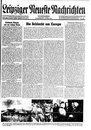 Leipziger neueste Nachrichten und Handelszeitung  vom 10.06.1944