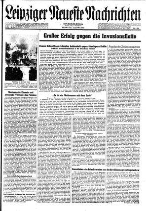 Leipziger neueste Nachrichten und Handelszeitung  vom 12.06.1944