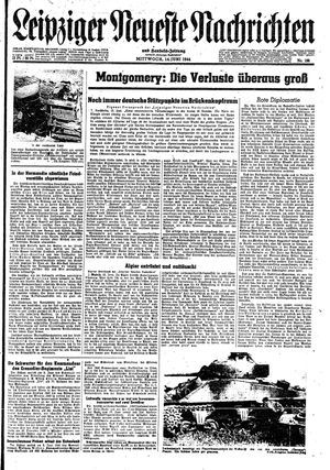 Leipziger neueste Nachrichten und Handelszeitung  on Jun 14, 1944