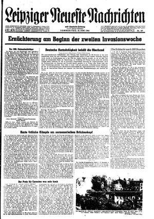 Leipziger neueste Nachrichten und Handelszeitung  vom 15.06.1944