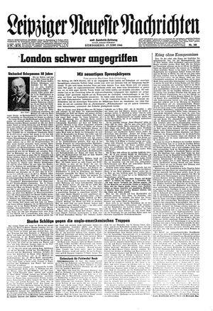 Leipziger neueste Nachrichten und Handelszeitung  vom 17.06.1944