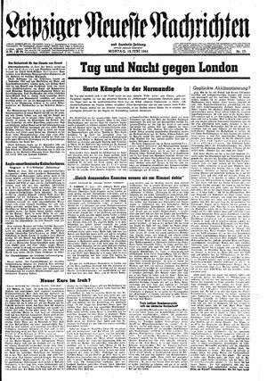 Leipziger neueste Nachrichten und Handelszeitung  vom 19.06.1944
