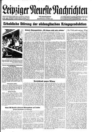 Leipziger neueste Nachrichten und Handelszeitung  vom 21.06.1944