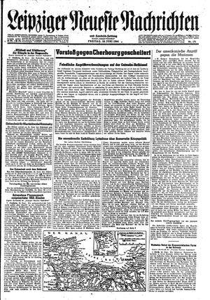 Leipziger neueste Nachrichten und Handelszeitung  vom 23.06.1944