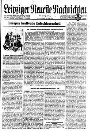Leipziger neueste Nachrichten und Handelszeitung  vom 24.06.1944