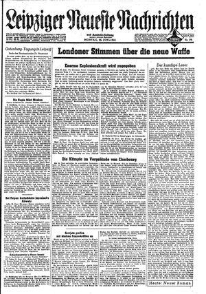 Leipziger neueste Nachrichten und Handelszeitung  vom 26.06.1944
