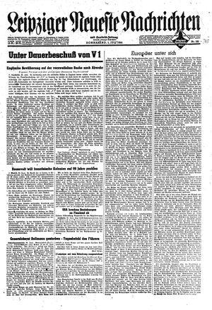 Leipziger neueste Nachrichten und Handelszeitung  vom 01.07.1944