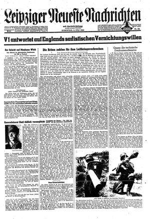 Leipziger neueste Nachrichten und Handelszeitung  vom 02.07.1944