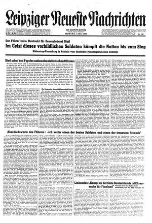 Leipziger neueste Nachrichten und Handelszeitung  vom 03.07.1944