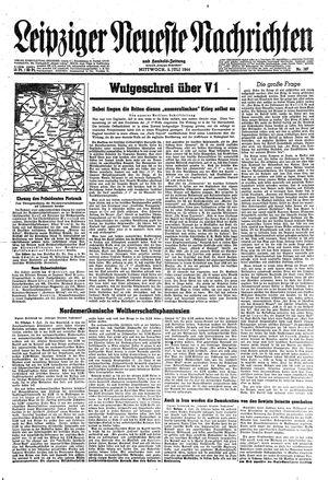 Leipziger neueste Nachrichten und Handelszeitung  vom 05.07.1944